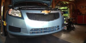 Cruze forged piston shop install