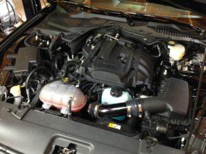 Ecoboost Mustang MW engine med