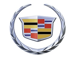 Cadillac's redesigned wreath and crest.
