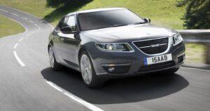 2011-Saab-9-5-on-the-road